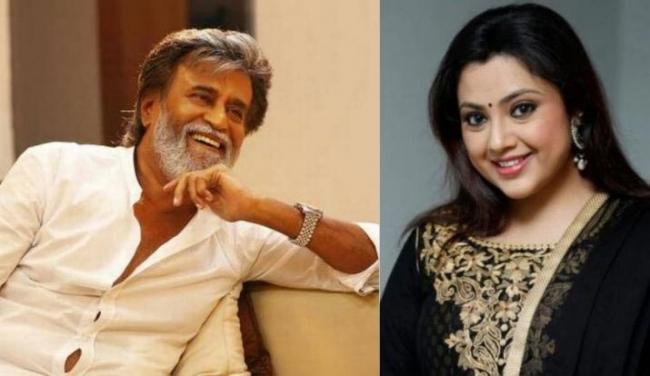 Veteran actress Meena to star in Rajinikanth Next Movie - Sakshi