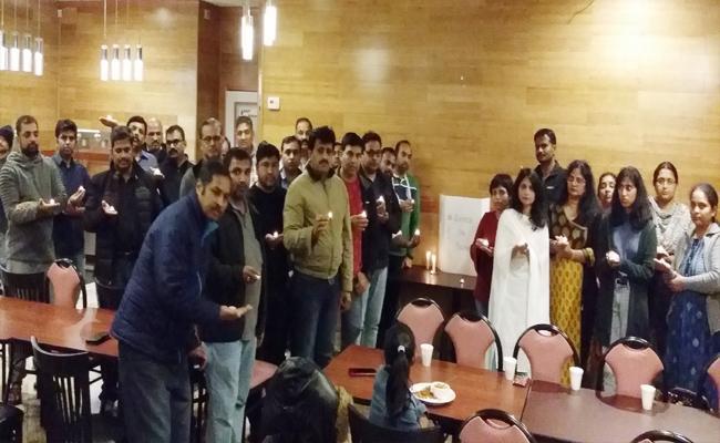 American Atlanta Telugu Association Members And Womens Gave Tributes To Disha - Sakshi