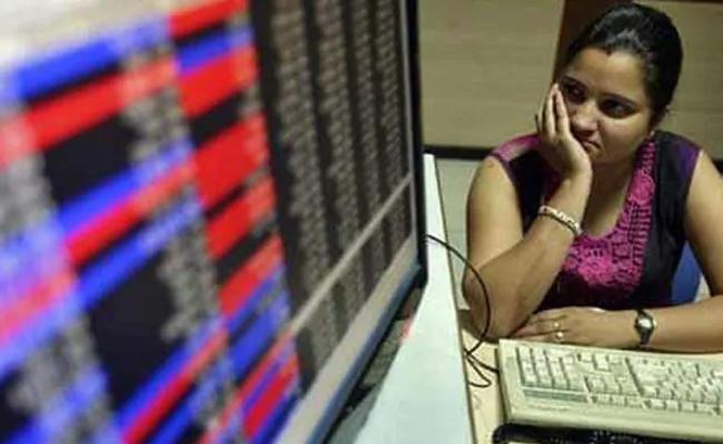 Sensex, Nifty Fall On RBI's Surprise Status Quo On Rates - Sakshi
