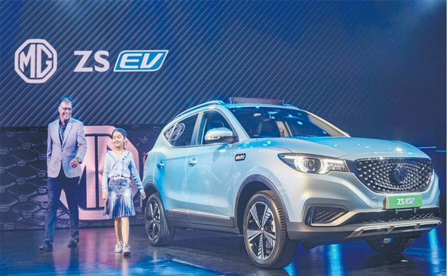 MG ZS Is To Be Launched In India In January 2020 - Sakshi