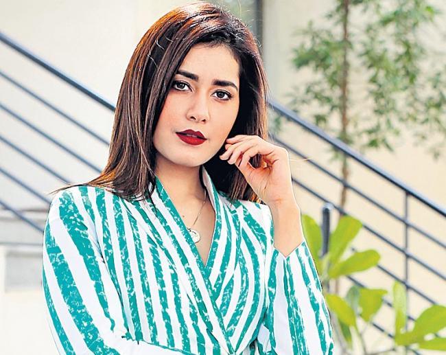 Rashi Khanna Cute Speech about Venky Mama Movie - Sakshi