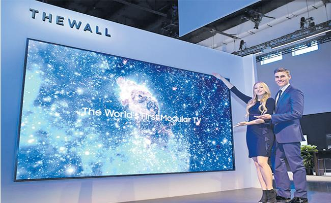 Samsung Launches New TV With A Massive 293 Inch Screen - Sakshi
