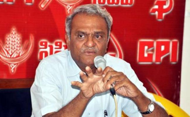 CPI Welcomes Disha Accused Encounter Says Narayana - Sakshi