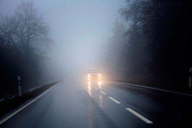 Accidents In Andhra Pradesh Due To Snow Fog - Sakshi