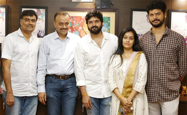 Sree Vishnu New Movie Launched, Directed By Hasith Goli - Sakshi
