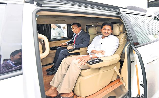 YS Jagan Mohan Reddy Launch Kia Motors in Anantapur - Sakshi
