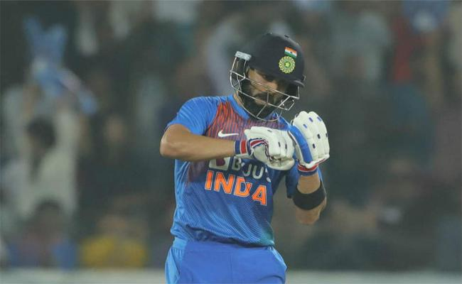 Virat Kohli Talks About Notebook Celebrations - Sakshi