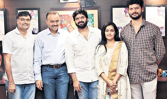 Sree Vishnu New Movie Launched, Directed By Hasith Goli - Sakshi