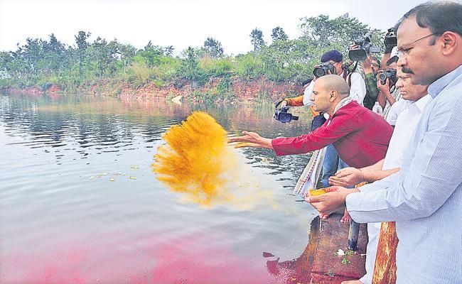 Proper water for pilgrims in Tirumala reservoirs - Sakshi