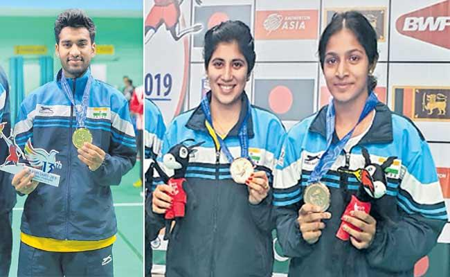 Indian Athletes Continue To Medals In The South Asian Games - Sakshi