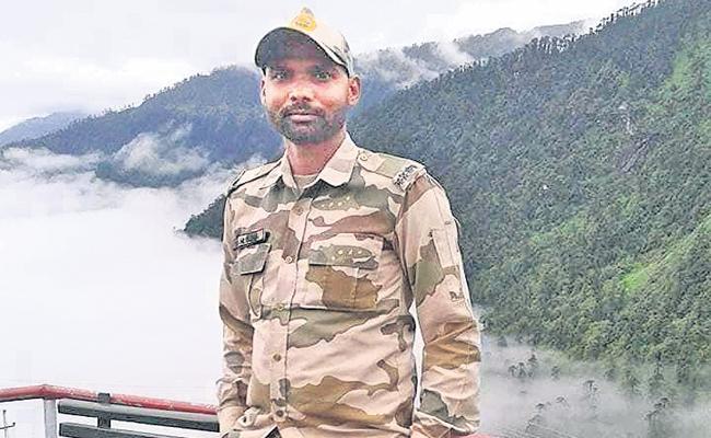 BSF Jawan Killed in Indo-Tibetan border - Sakshi