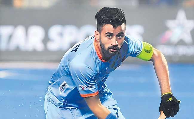 Manpreet Singh Nominated For FIH Player Of The Year Award - Sakshi