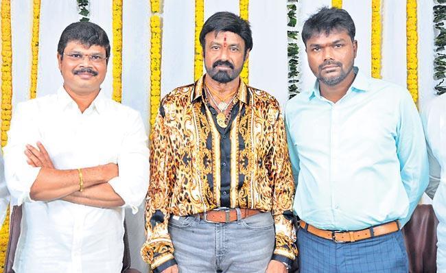 bala krishna, boyapati new movie launch - Sakshi