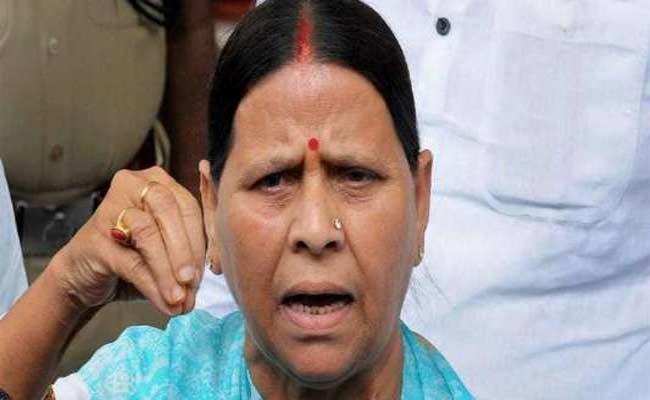 Rabri Devi Fires On Bihar Deputy CM Sushil Modi Over Darbhanga Rape - Sakshi