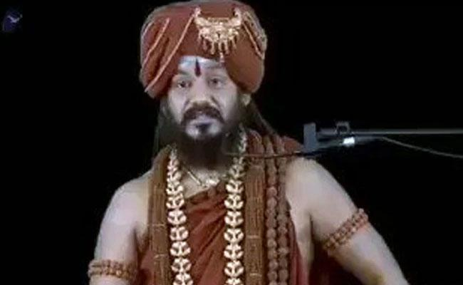 Nithyananda  Says Now Nobody Can Touch Me Viral Video - Sakshi