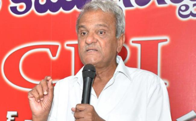 CPI Narayana Says Apologize On Disha Accused Encounter - Sakshi