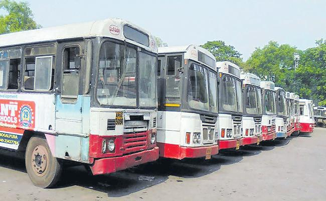 TSRTC Planning To Run City Buses To Out Of Station - Sakshi