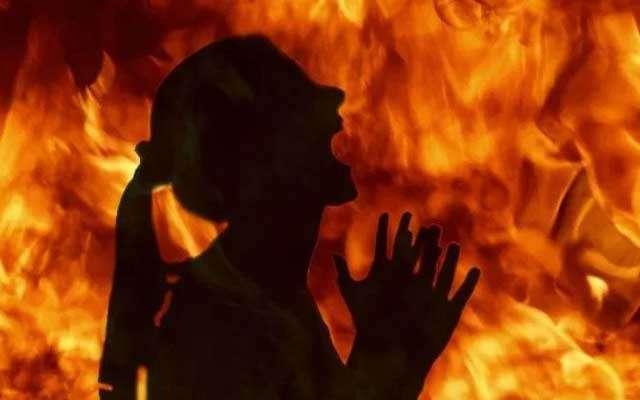 Minor Girl Burnt Alive In Tripura - Sakshi