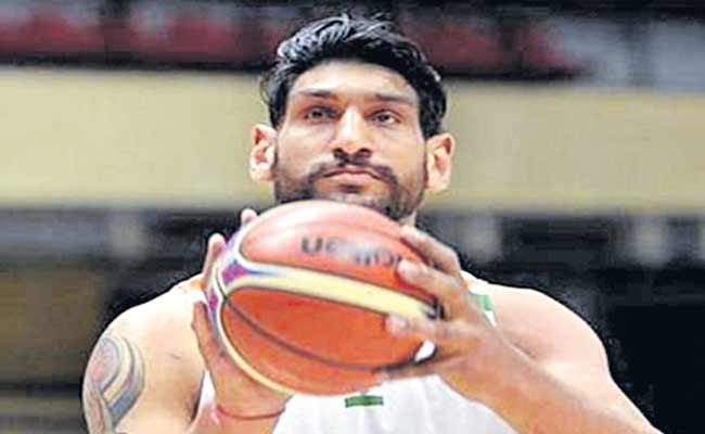 India NBA Trailblazer Satnam Singh Fails Dope Test - Sakshi