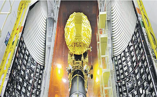 All Prepare for the PSLV C 48 launch - Sakshi