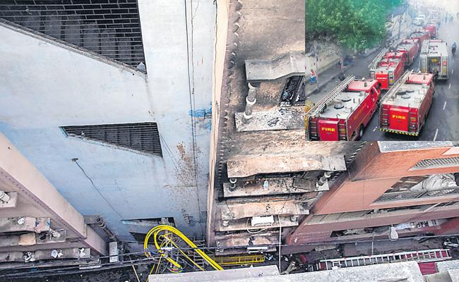 43 Died In Fire Accident At Delhi - Sakshi