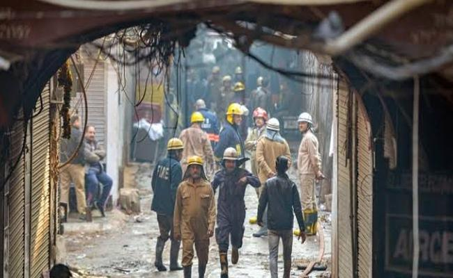 Brother, Going To Die Today: Delhi Fire Victim In Last Phone Call - Sakshi