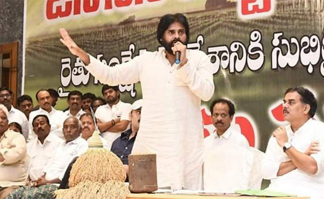 Pawan Kalyan fury on Janasena Party Cadre At Mandapeta - Sakshi