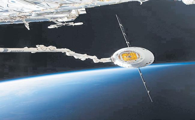 SpaceX Shipped From Cape Carnival On A Spaceship - Sakshi