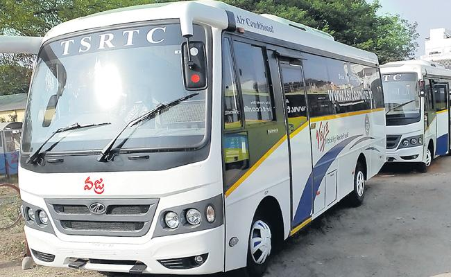 TSRTC Says Bye To Vajra Bus Services - Sakshi