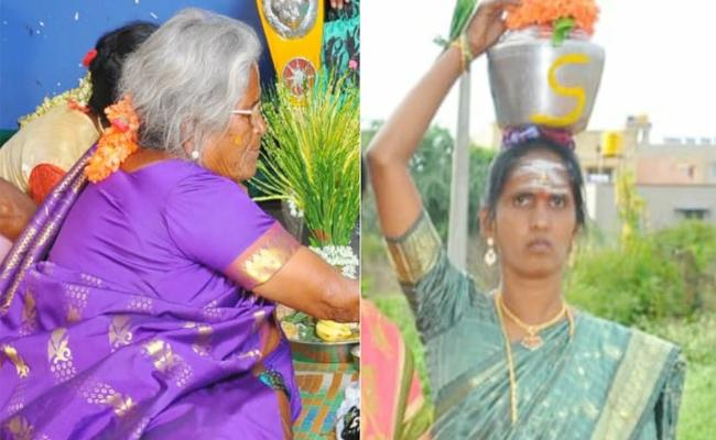 Aunty And Daughter In Law Commits Suicide in Karnataka - Sakshi