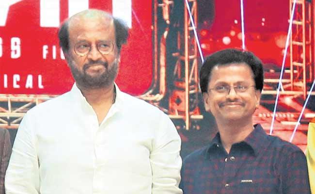 Rajinikanth And  Murugadoss At Darbar Audio Launch - Sakshi