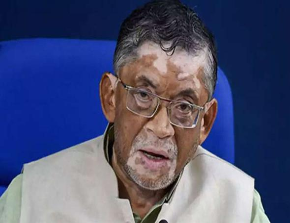 Gangwar Says No Reason That Employment Has Come Down - Sakshi