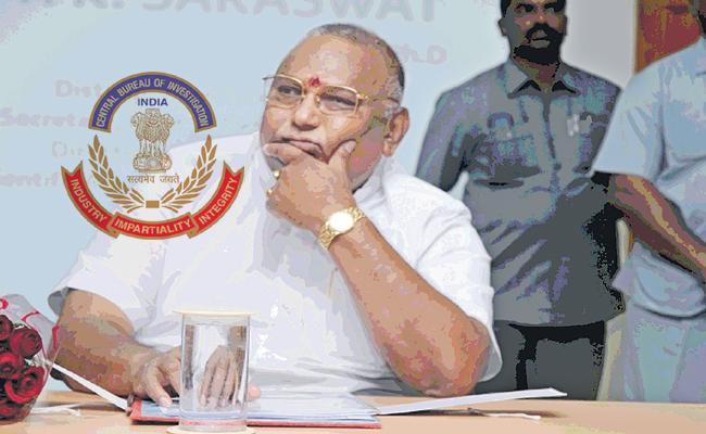 CBI Attack on Rayapati Sambasiva Rao - Sakshi