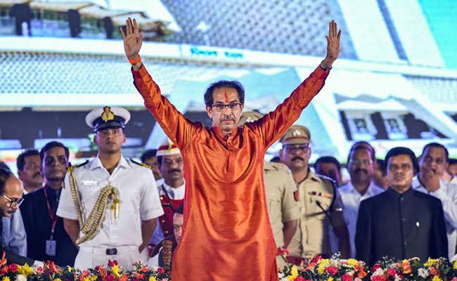 Thackeray's Family dream comes true, Uddhav As a Maharashtra CM - Sakshi