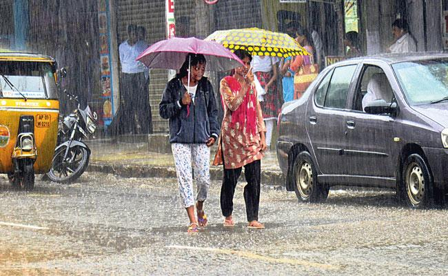 Today will Be Rain In Telangana - Sakshi