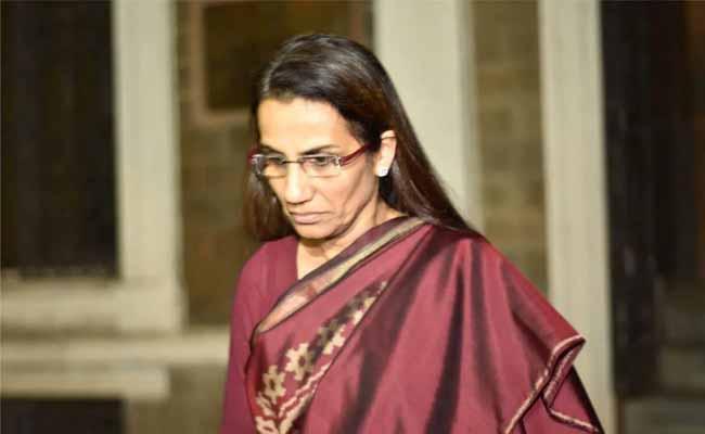 Ed attached Former CMD of ICICI Bank Chanda Kochhar assets - Sakshi