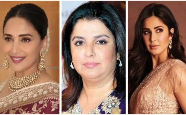 Farah khan Birthday: Madhuri Dixit To Katrina Kaif wishes To Her - Sakshi