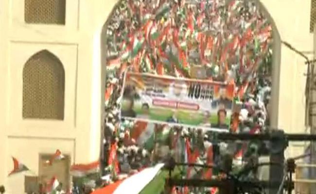 Muslim Tiranga Rally In Hyderabad - Sakshi