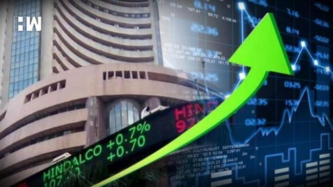 Benchmark Indices Higher With The Nifty Hitting A Fresh High - Sakshi