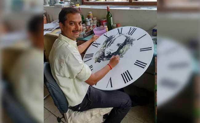 Swiggy Delivery Boy Art Work Goes Viral - Sakshi