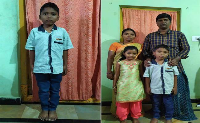 Small Boy Suffering From Thalassemia Disease In Gadwal - Sakshi