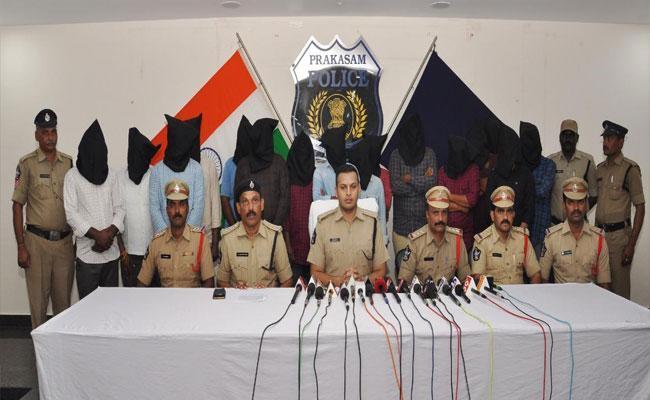 In Prakasam 16 members Arrested Connection With Mining Mafia - Sakshi