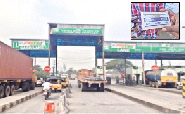 Fastag Registration Vehicles Reaching 70 Percent - Sakshi