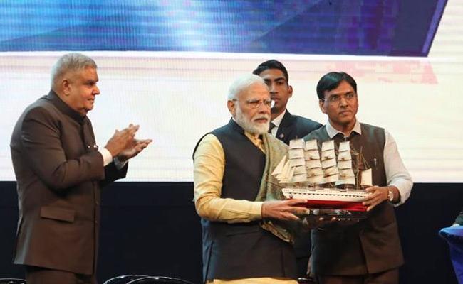Kolkata Port Renamed As Dr Syama Prasad Mookerjee Port By Modi - Sakshi