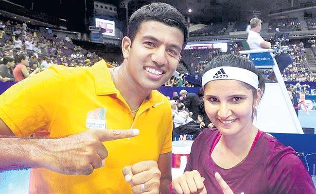 Rohan Bopanna To Pair Up With Sania Mirza At Australian Open - Sakshi