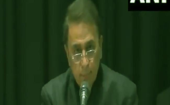 Sunil Gavaskar Comments About CAA In Mumbai - Sakshi