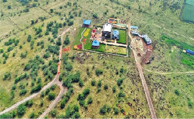 Un Development Capital Amaravati Special Story - Sakshi
