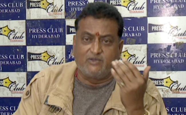 Prudhvi Raj Resigns From SVBC Chairman Post - Sakshi
