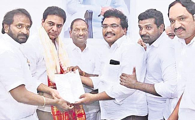 Telangana Gowda Committee Says Thanks To KTR For BC Reservations - Sakshi