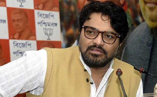 Union Minister Babul Supriyo Reacts On Dilip Ghoshs Shot Like Dogs Comment - Sakshi